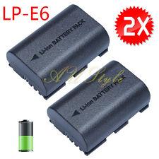 OZ Camera Battery LP-E6 for Canon EOS 5D Mark III EOS 80D 70D 7D 60D 6D 2650mAh