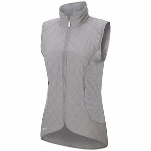 f9cc1b407583 Image is loading Adidas-Women-Tour-Mixed-Media-Padded-Vest-S-