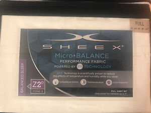SHEEX® Micro•BALANCE 37.5® Performance 300-Thread-Count Full Sheets Ivory