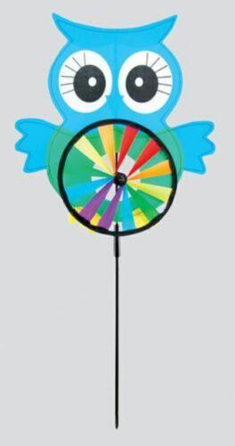 Owl Vent Spinner Garden Home Ornement Windmill 1 fourni @ aléatoire