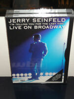 Jerry Seinfeld: I'm Telling You For The Last Time (dvd) Live On Broadway
