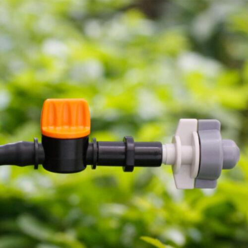 10PCS 4//7mm Micro Hose Garden Irrigation Barbed Water flow control valve Drip