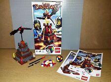 LEGO BOARD GAME - 3838 - LAVA DRAGON - COMPLETE, GREAT CONDITION