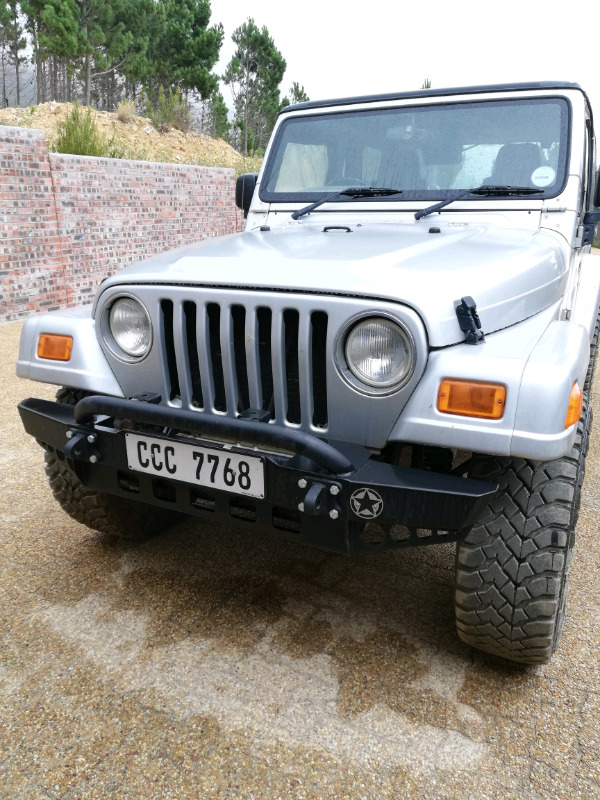 Jeep Wrangler Tj Bumpers Strand Gumtree Classifieds South