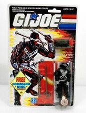 Gi Joe V3 Snake Eyes Action Figure MOC 1989 Hasbro