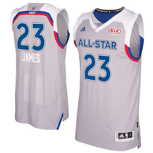 the latest 55381 da3ca Details about 2017 Lebron James NBA Basketball East All Star Swingman  Jersey Adidas Youth