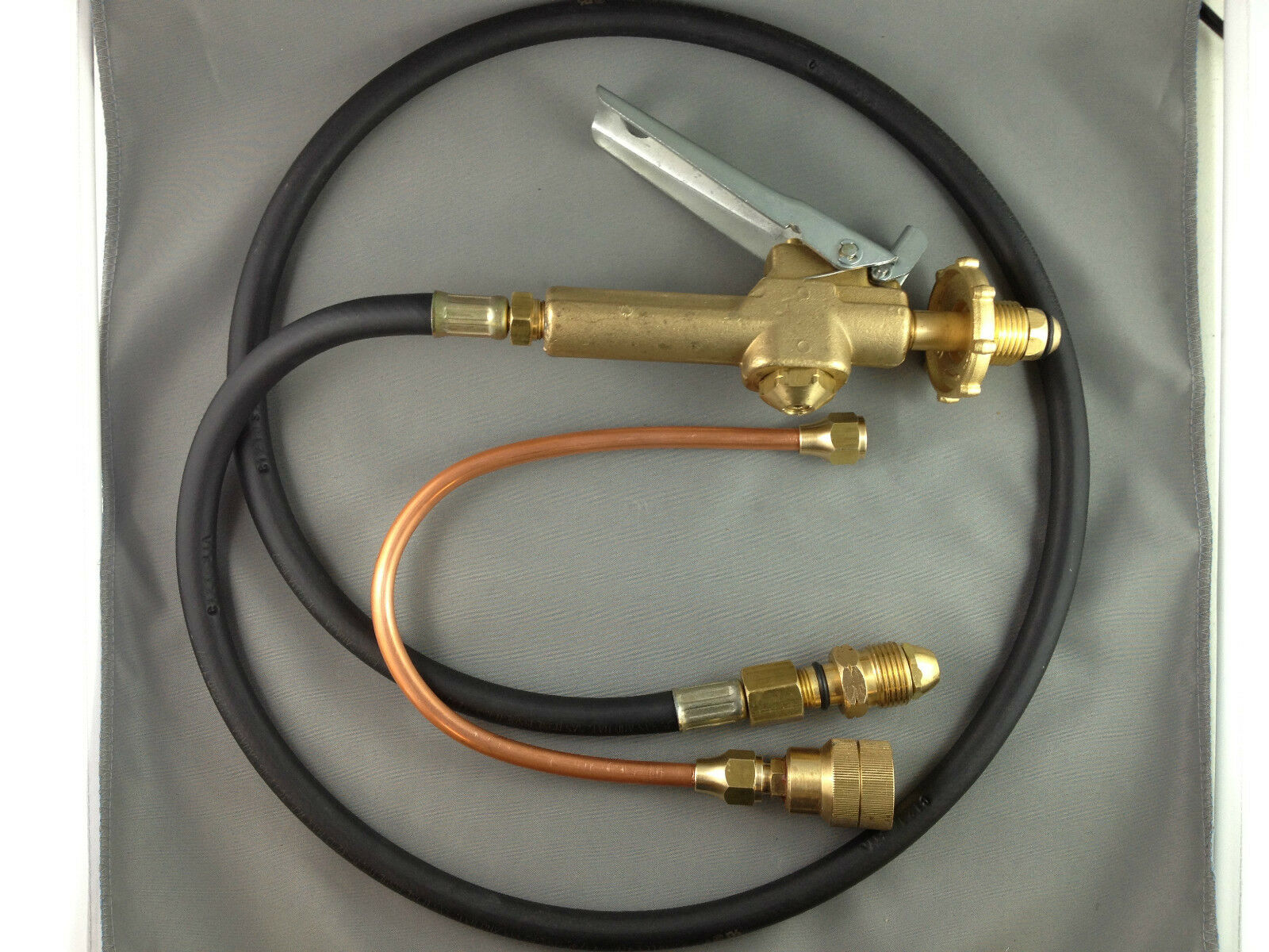 LPG Filler Gun u0026 Hose with Automotive LPG Tank Decanting Fitting. & LPG Filler Gun u0026 Hose with Automotive LPG Tank Decanting Fitting | eBay