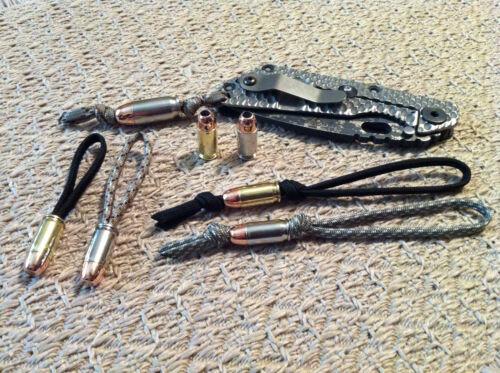 perles faites de SMITH /& WESSON CBC cordons 380 Auto Bullet Beadz tirettes