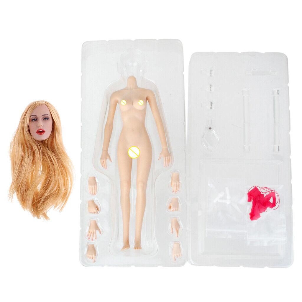 1  6 Female Nude corpo &Head Sculpt for 12  cifra Phicen giocattolo bambola Accessories  il più recente