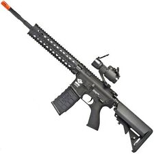 G&G Combat Machine CM16 R8-L Airsoft Assault Rifle Tactical RIS 30mm AP Red Dot