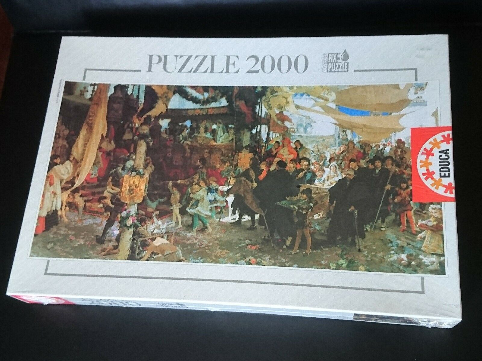 Educa Puzzle 2000 cortejo del bautizo del principe Don Juan en Sevilla,