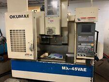Okuma Mx 45vae Cnc Vertical Machining Center 30 X 18 Price Reduced