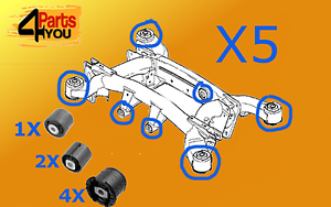 BMW-X5-E53-REAR-SUBFRAME-AXLE-CARRIER-FRONT-DIFFERENTIAL-BUSH-MOUNTING-BUSCHES