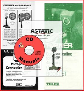 Pleasing Astatic Gc Shure Turner Cd Microphone Wiring Guides Mic Handbook Wiring Database Lukepterrageneticorg