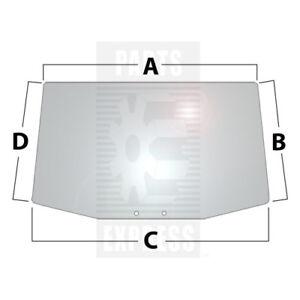 R96187 John Deere Windshield Glass for Models 7200 7400 7600 7410 7210 7510