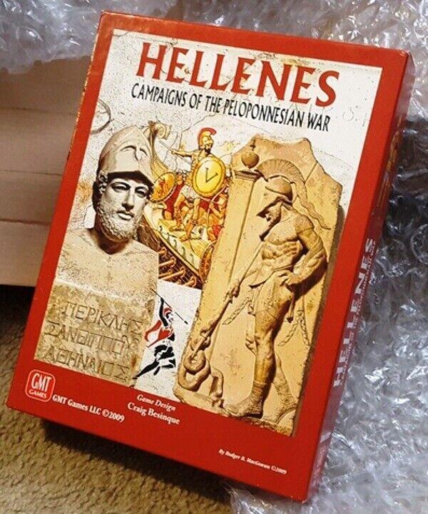 GMT Hellenes  Campaigns of Peloponnesian War, UP; Bonus  C3i counters & displays