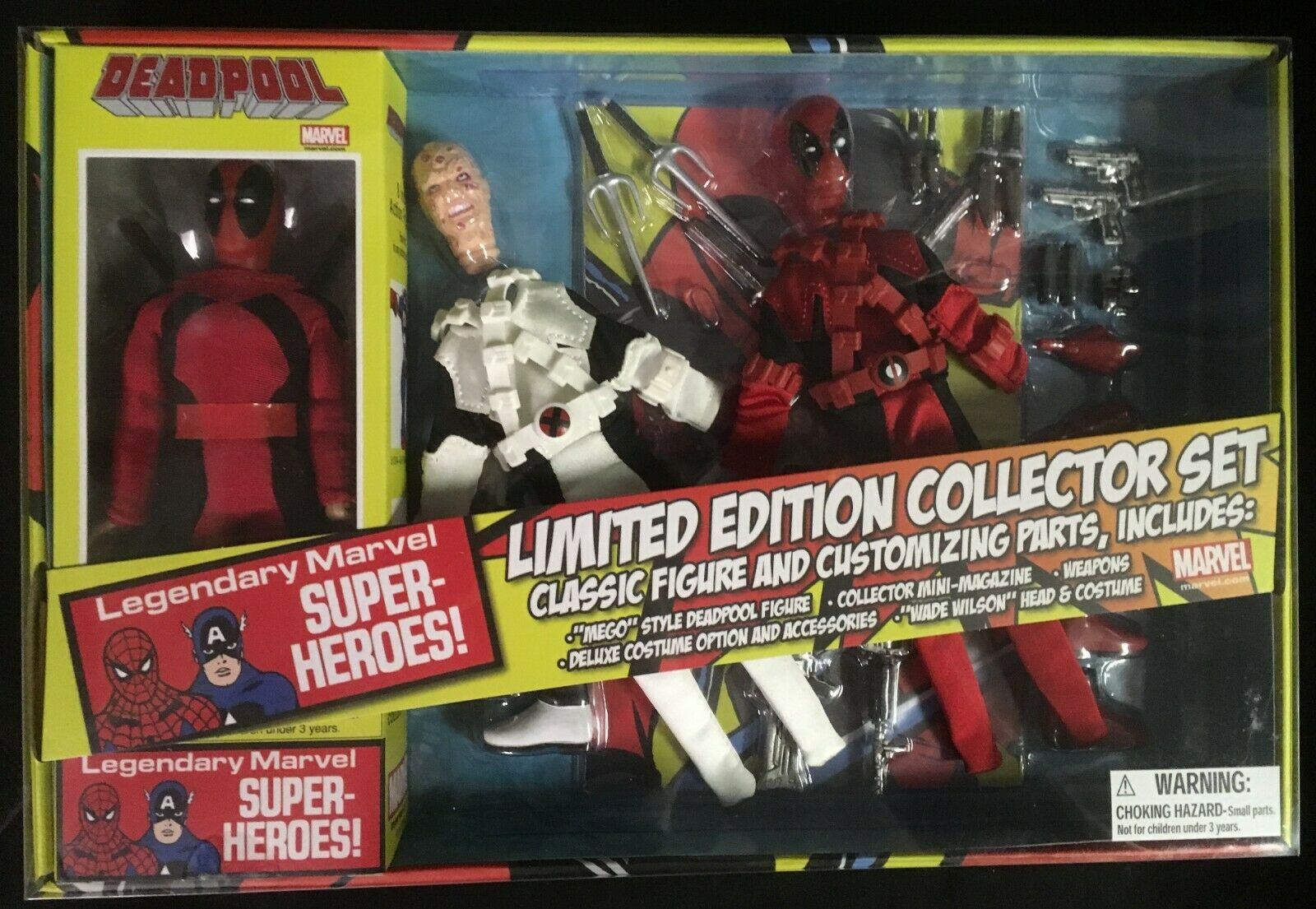 Diamond Select Deadpool Edición Limitada Coleccionista Set  2306 3000