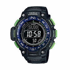 Casio SGW1000-2B, Compass, Thermometer, Altimeter, 5 Alarms, World Time, Chrono