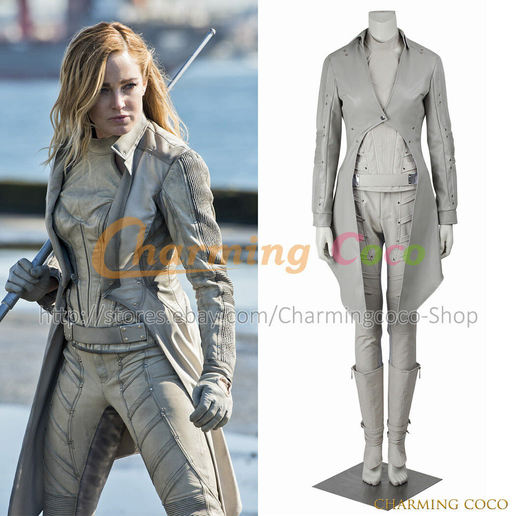 Legends Of Tomorrow White Canary Cosplay Costume Outfit Sara Lance Cosplay Costume Custom Made Size