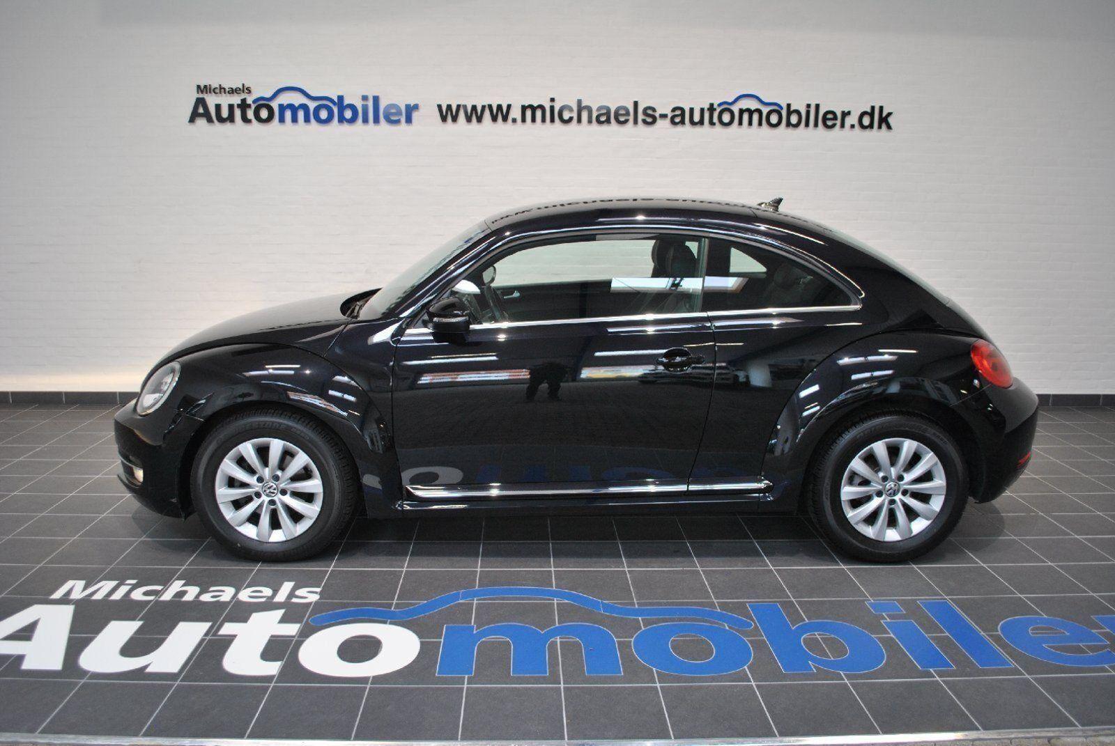VW The Beetle 2,0 TDi 110 Design 2d - 219.900 kr.