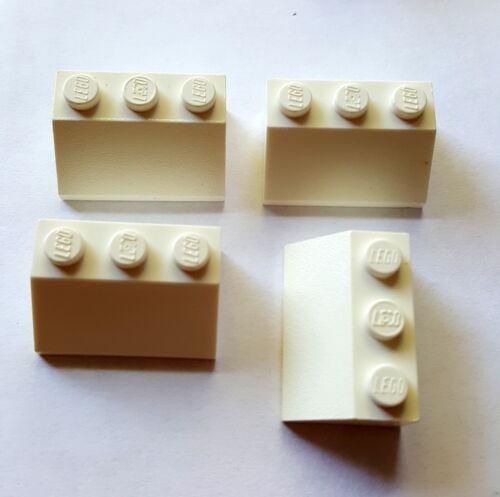 Piezas de LEGO piedra angular 3038 Dachstein 2 x 3 x 1 cuesta 4 Weiß27