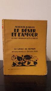 Auguste Bailly - La Personalizable Y EL AMOR - 1929 - Edición Artheme Fayard