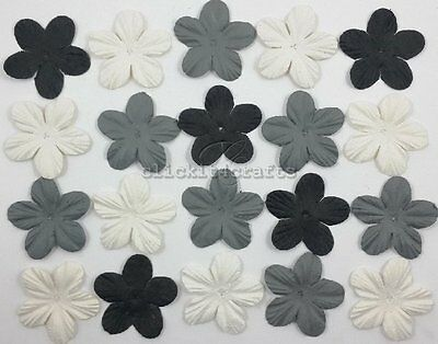 100 Paper Flowers Scrapbook Cardmaking Birthday Party Craft Supply ZQP20-505