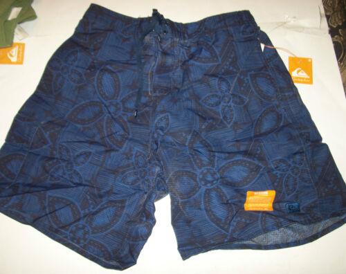 NEW Quiksilver swim trunks boardshorts board shorts navy blue Medium or XL