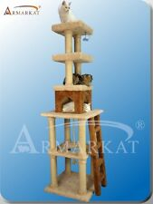 """83"""" Giant Armarkat Cat Tree Furniture Gym Double Base Carpet Covering X8303"""