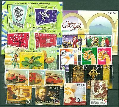 ** Mnh Kat Zypern Jahrgang 2006 Nr 31,00 € Bl.25-1086