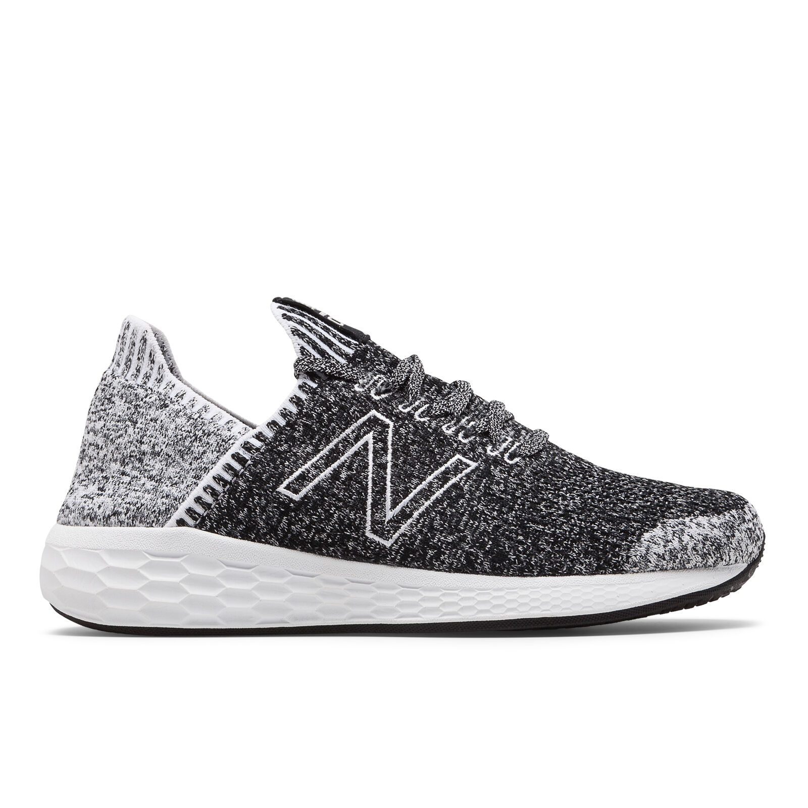 New Balance MCRZSLB2 Cruz v2 Fresh Foam Black White Men's Running shoes