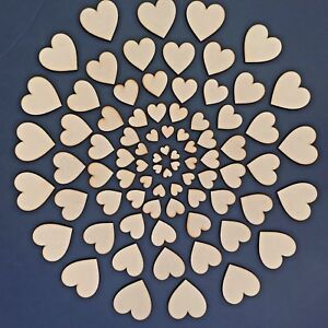 Wooden-MDF-Hearts-Shape-3mm-MDF-Craft-Shape-Tags-Embellishments-Decoration