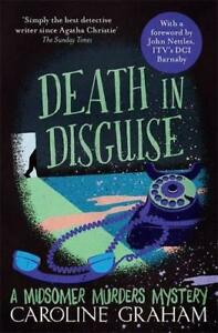 Death-in-Disguise-A-Midsomer-Murders-Mystery-3-by-Graham-Caroline-NEW-Book-F