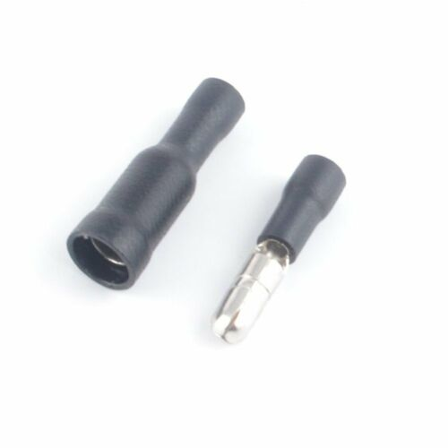 Female+Male Insulated Electric Connector Crimp Bullet terminal for 22~16AWG 50pc