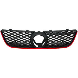 Kuhlergrill-Frontgrill-Grill-fur-VW-Polo-9N3-Bj-05-09-GTI-Optik-Wabendesign