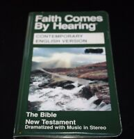 Faith Comes By Hearing Bible on Cassette New Testament w/ Music   -LL
