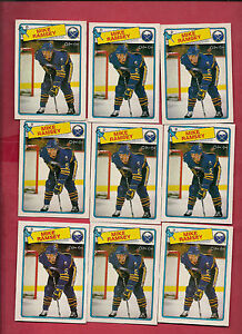 9-X-1988-89-OPC-133-SABRES-MIKE-RAMSEY-CARD
