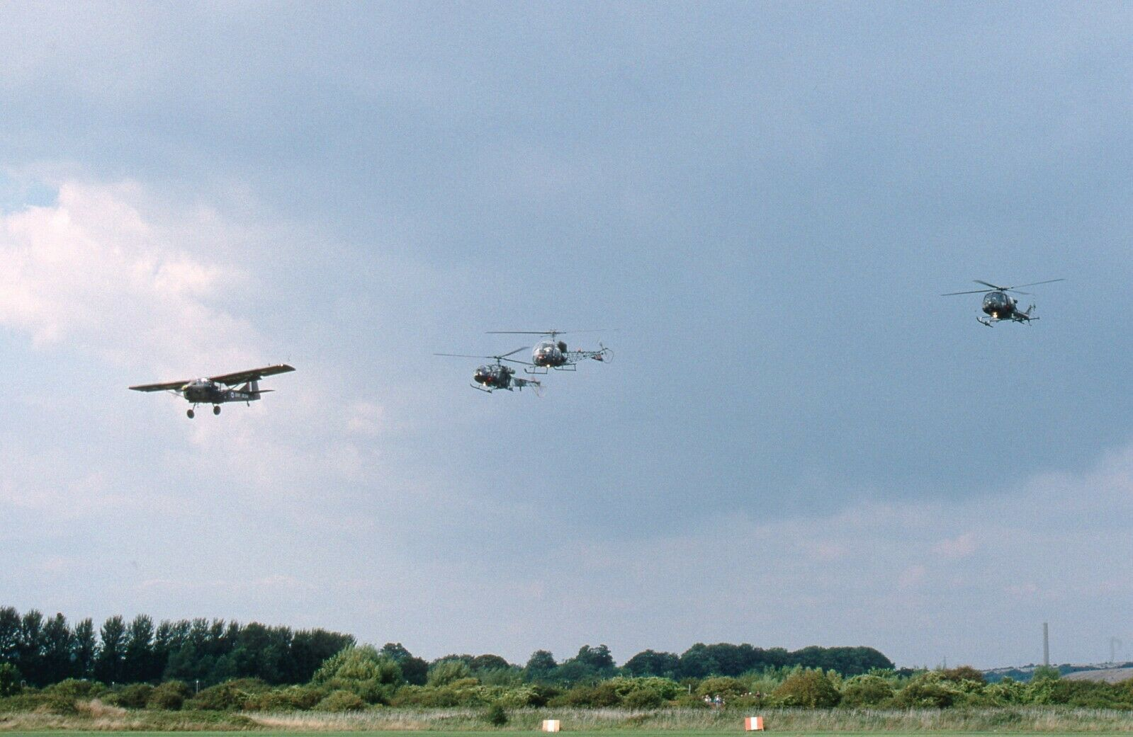 Army Air Corps  Auster AOP6 flyby Military Print Exclusive