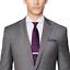 thumbnail 4 - Ralph-Lauren-Purple-Label-Mens-Anthony-Grey-Sharkskin-Modern-Wool-Slim-Suit-38L