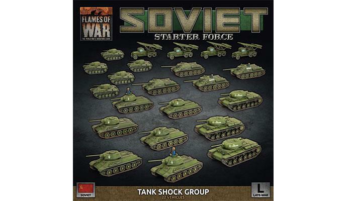 Finales de la guerra  tanque soviético grupo de choque  - Llamas De La Guerra-SUAB 11