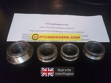 CBR1000RR CBR 1000 2004- 2007 Captive wheel Spacers. Full set.