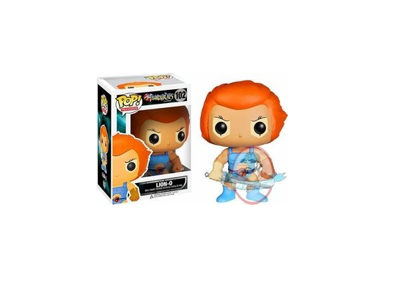 Pop  Thundercats Vinyl Figure Lion-O by Funko JC