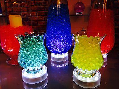 LED LIGHT BASE WITH 15 BRIGHT WHITE LIGHTS FLORAL TABLE DECORATION VASE UP LIGHT