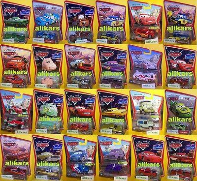 A Modellini Disney Pixar Film Cars 2 Mattel 1:55 Autos Coches Automobili Metallo