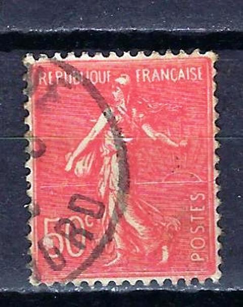 France 1924 type semeuse lignée (3) Yvert n° 199 oblitéré 1er choix