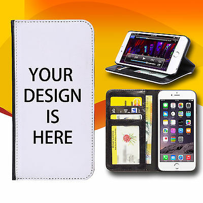 Photo Personalize Customize Wallet Case iPhone 4 4S 5 5S 5C 6 PLUS iPod Touch