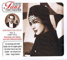 "DIE GREAT GERMAN DANCE ORCHESTRA ""Barnabas by Geczy & Salon orchestra"" CD OVP"