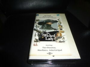 vhs-The-Wicked-Lady-Faye-Dunaway-Alan-Bates-en-John-Gielgud