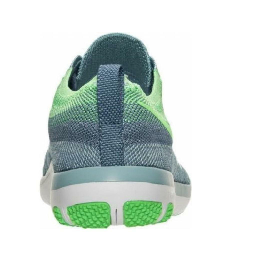 die frauen der nike free tr gefasst flyknit trainer blau - grün läuft trainer flyknit 844817 402 aa583c