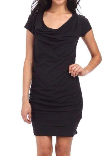 Bench Womens Casual Little Black Twistout T-Shirt Beach Dress BLSA1606 NWT